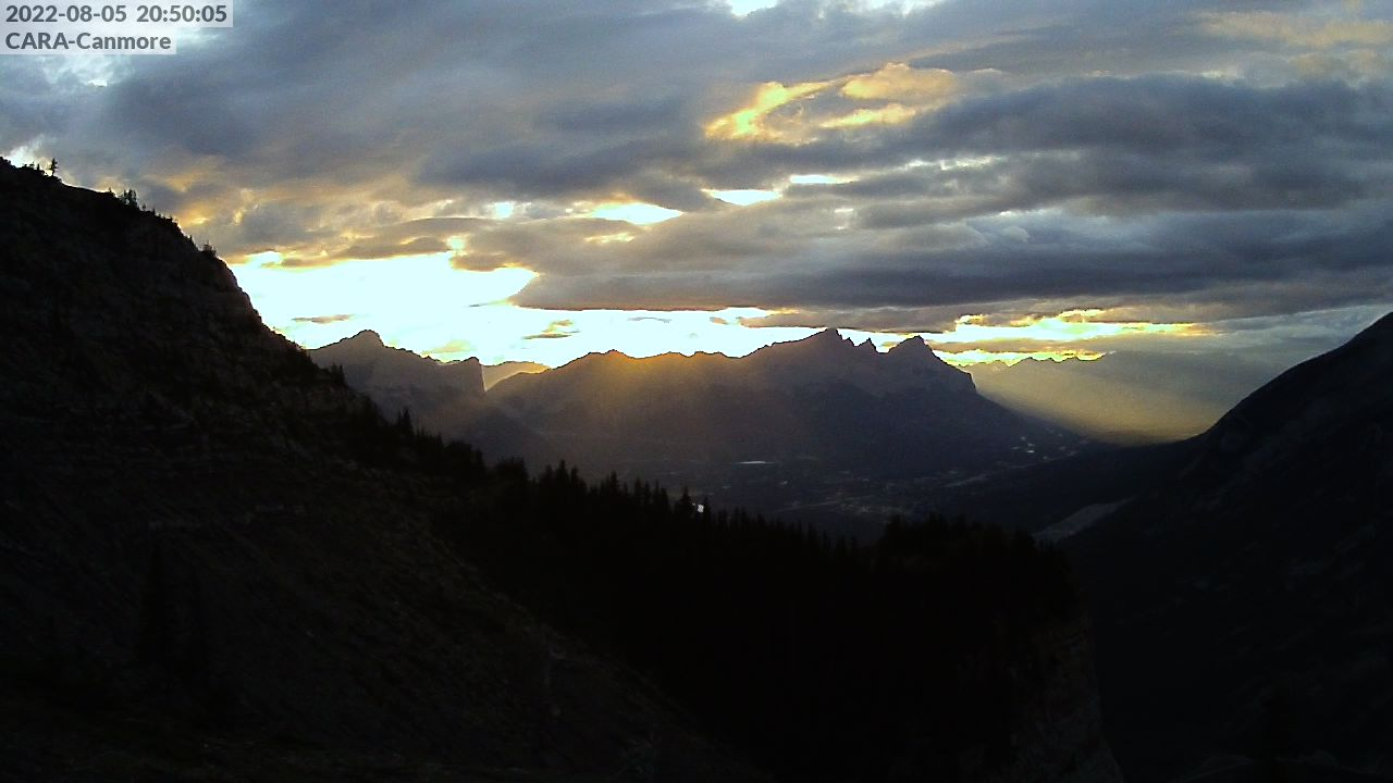 View to Canmore